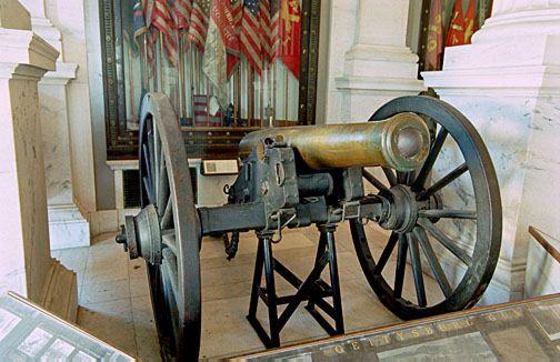 Rhode Island State House Civil War Cannon